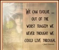 """A picture that says, """"We can evolve out of the worst tragedy we never thought we could live through"""