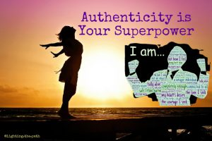 authenticity is your superpower